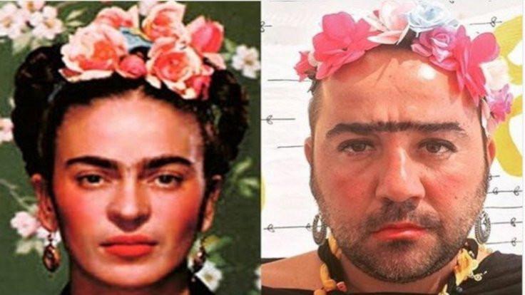 Demirer, Frida Kahlo oldu!