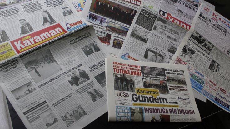 Altı gazete haftalık oldu