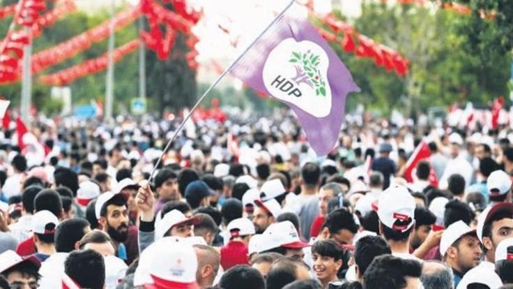 HDP'den İstanbul mitingi