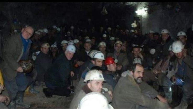 Kosova'da 100 işçi madende mahsur kaldı