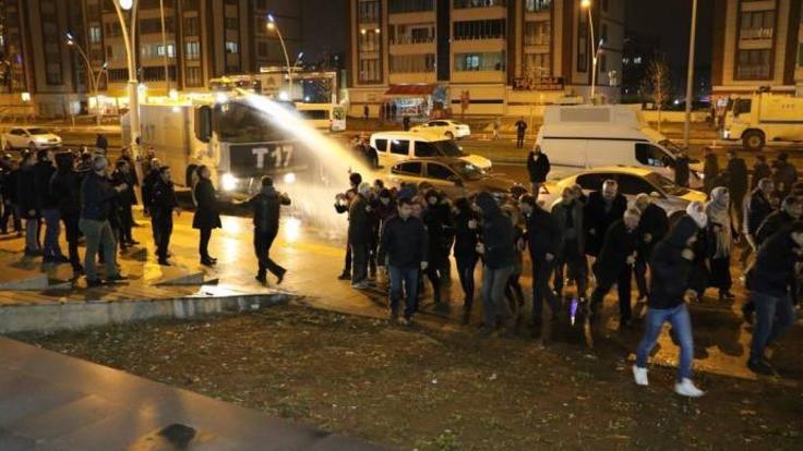 Leyla Güven'in evinin önündeki destek eylemine izin verilmedi