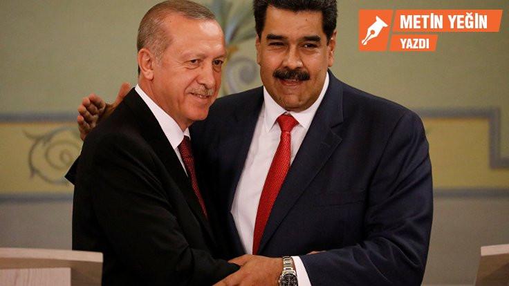 Erdoğan Maduro'yu neden destekliyor?