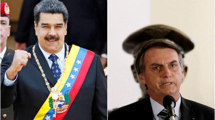 Maduro, Bolsonaro'yu Hitler'e benzetti