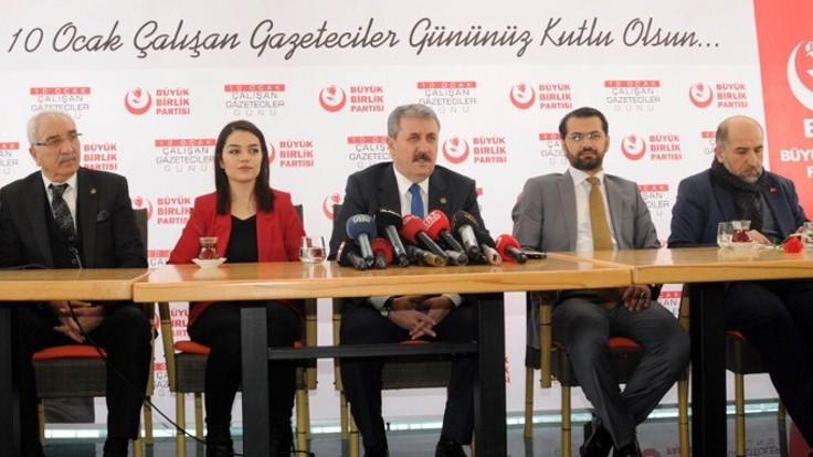 Destici: Ağrı'da AK Parti'yi destekleyeceğiz, Tutak'ta da bizi desteklesinler