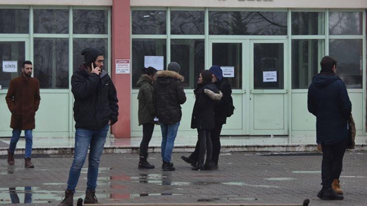 'Eksik not' gerilimi: Öğretim üyeleri tartıştı!