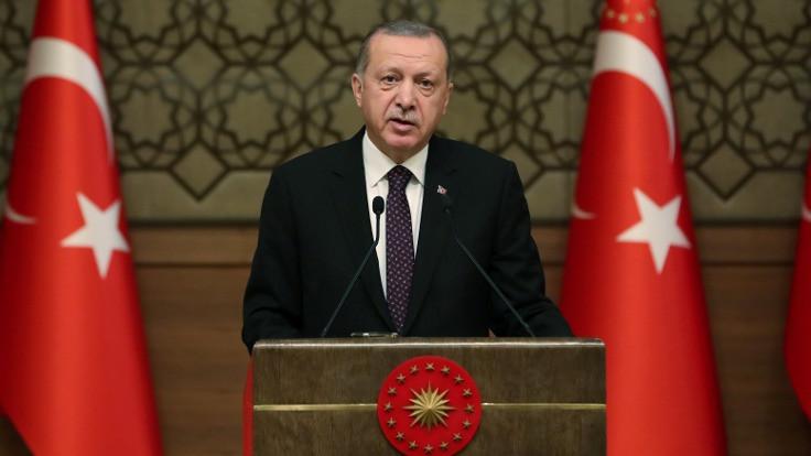 Erdoğan: Trump'ın açıklaması beni şok etti
