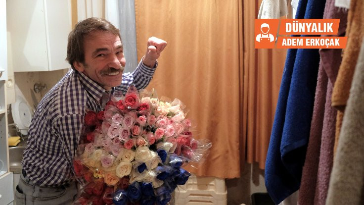 Wuppertal'in tek çiçekçisi 'Rosen Ali'