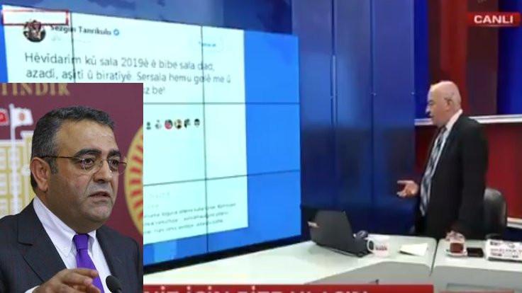 'Kürtçe tweet'ime yapılandır ülkeyi bölen'
