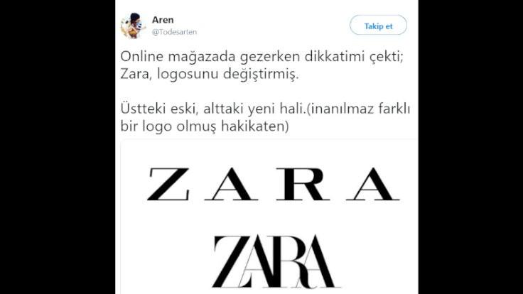 Twitter'dan Zara'ya logo önerileri!