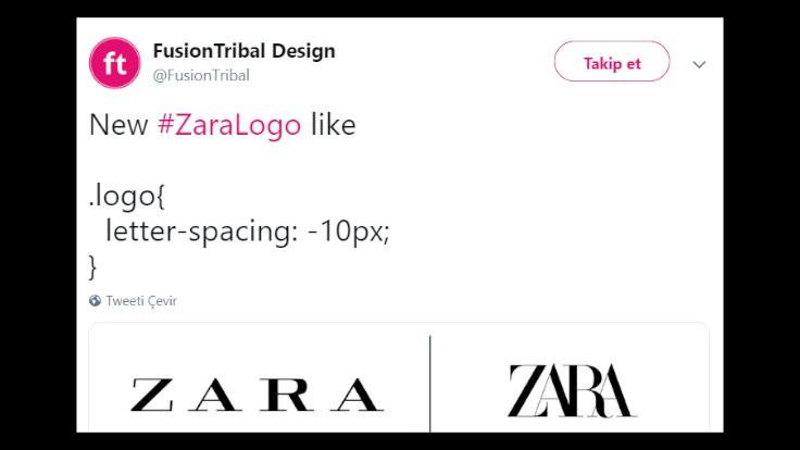 Twitter'dan Zara'ya logo önerileri! - Sayfa 3