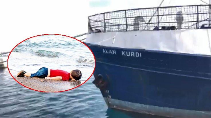 Alan Kurdi'nin adı verildi
