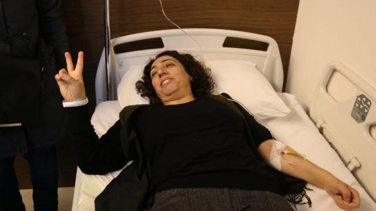 HDP'li Saliha Aydeniz hastaneye kaldırıldı