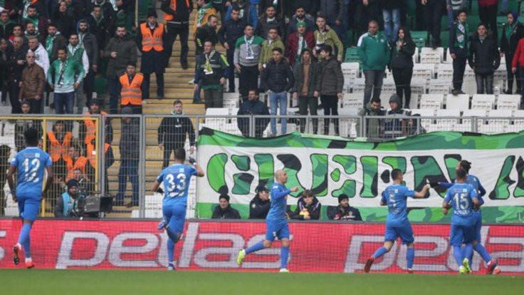 Rize, Bursa'yı 2 golle geçti