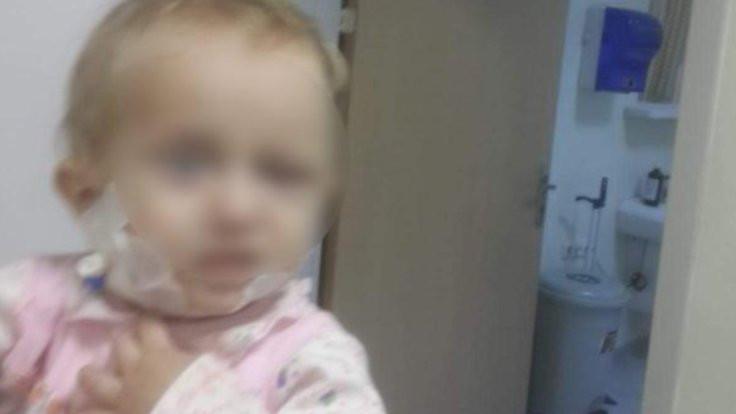 Bebeğine düzenli olarak çamaşır suyu enjekte etti!