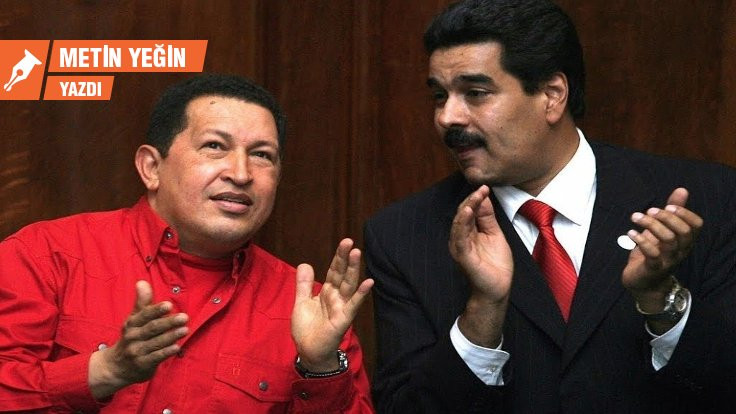 Chavez ve Maduro para yedi mi?