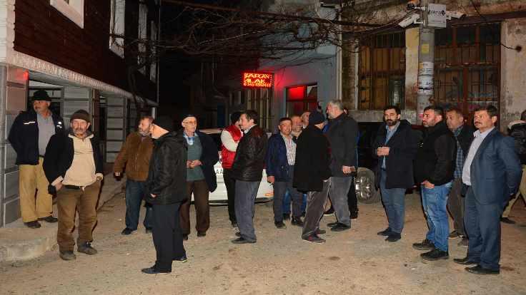 Ayvacık'ta okullar tatil edildi