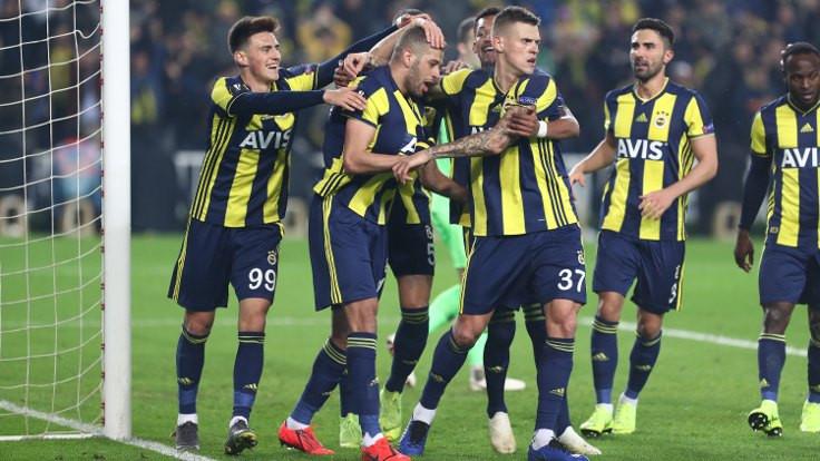 Fenerbahçe Slimani'yle kazandı