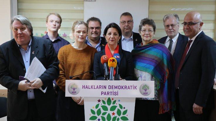 Barış Heyeti HDP'yi ziyaret etti