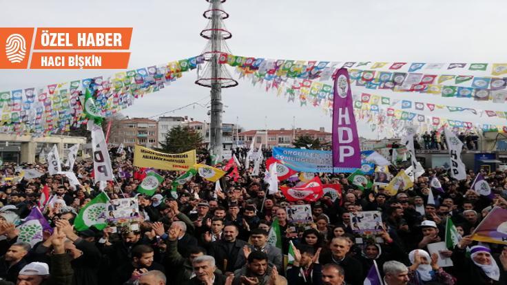HDP üç ilçede sürprize hazırlanıyor