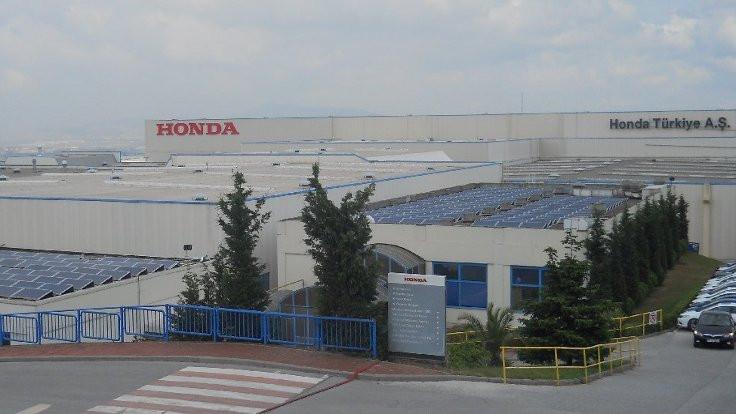 Honda Türkiye'deki üretimi durduruyor