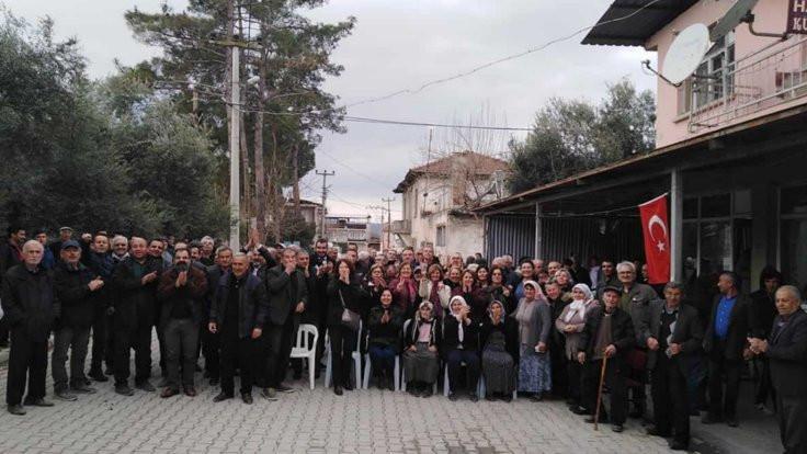 Sarayköy halkı JES'e geçit vermedi