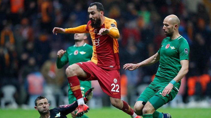 Galatasaray 90+5'te kazandı
