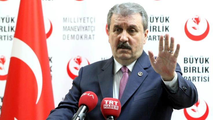 Destici: AK Parti'yle dün görüşme yaptık