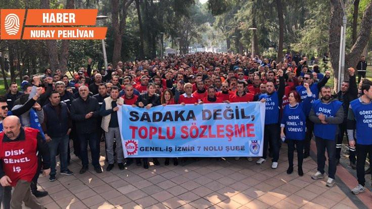 Bornova Belediyesi'nde 1400 işçi greve gidiyor