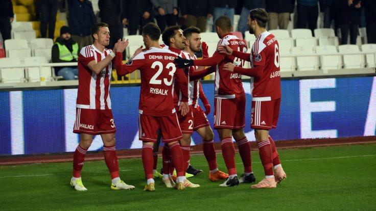 Sivasspor Kone'yle kazandı