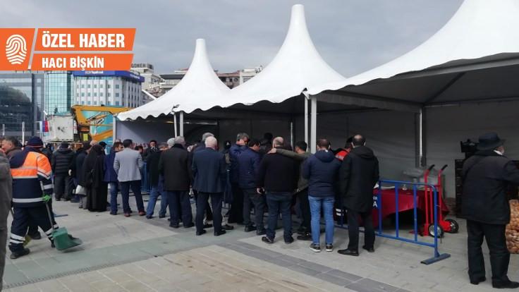 Tanzim satışı kuran Aydoğan: 3-5 çadırla olmaz
