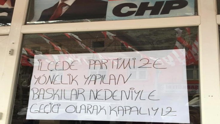 CHP Uludere: Baskılar nedeniyle kapalıyız!