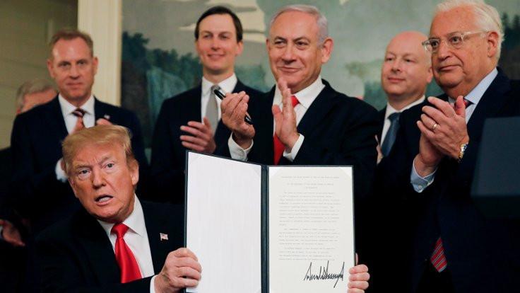 Trump, Kudüs ve Golan'dan ötesini hedefliyor