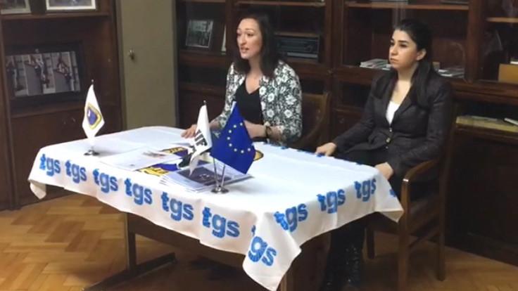 TGS'den 8 Mart raporu: Kadın muhabir habere alyans takarak gidiyor