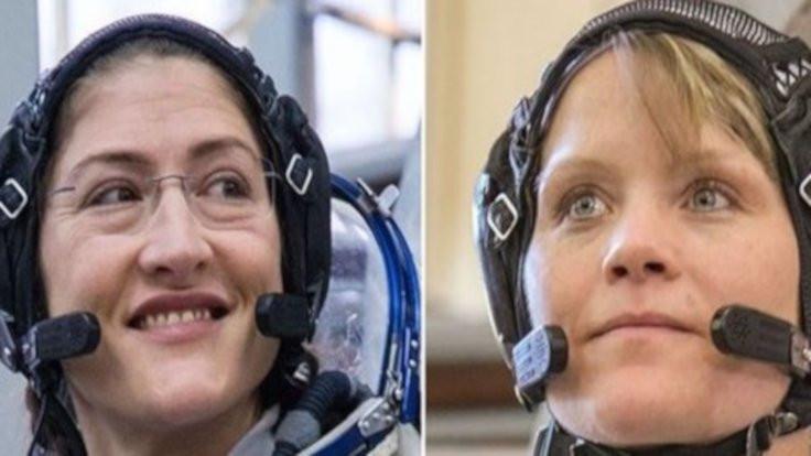 Kadınlar uzayda yürüyecek!