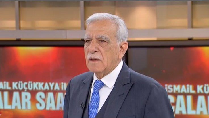 Ahmet Türk: Fren görevi görüyoruz