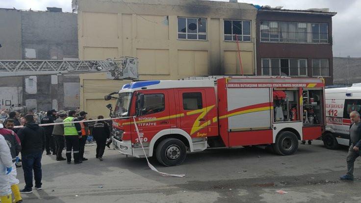 Metruk binadaki yangında 5 kâğıt toplayıcı öldü