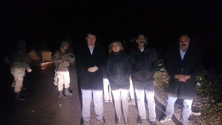 HDP milletvekilleri Varto'ya alınmadı