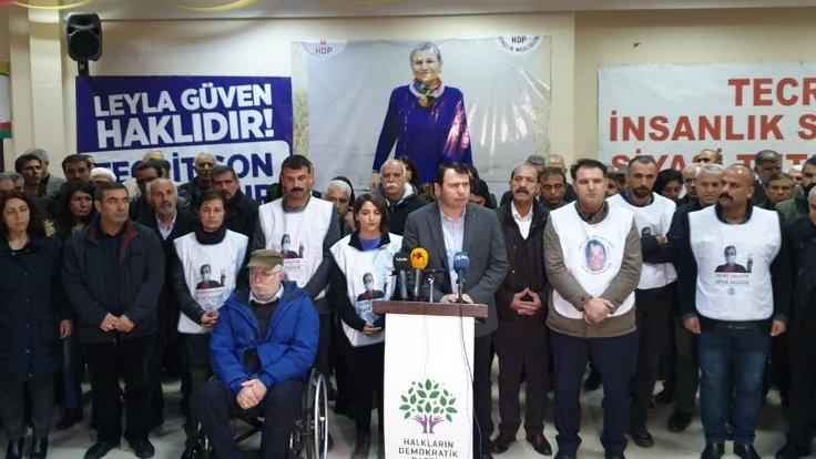HDP'li vekil Dağ süresiz açlık grevine başladı
