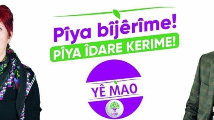 HDP afişine yanlış tercüme yasağı