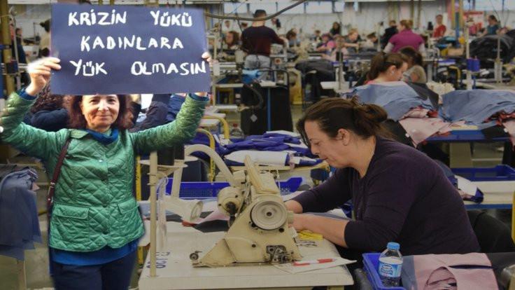 Kadın işçi raporu: Çocuklarımıza tahammülümüz azaldı, kişisel bakım yapamıyoruz!