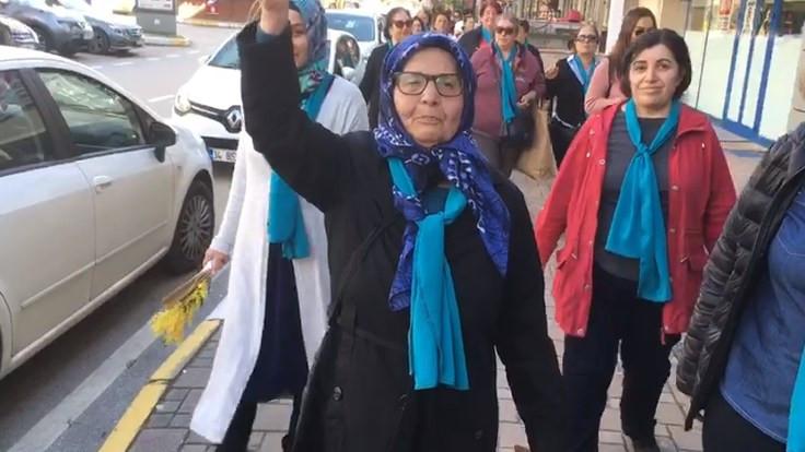 Kadınlar Çekmeköy'de yürüdü