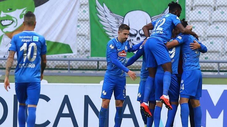 Rizespor 3 puanı 2 golle aldı!