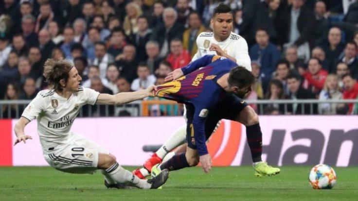 Barcelona'dan Real Madrid'e Messi mesajı!