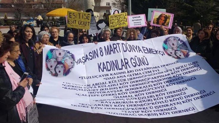 Mamak'ta kadınlardan 8 Mart açıklaması: Birlikte daha güçlüyüz!