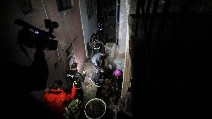 İstanbul'da narkotik baskını