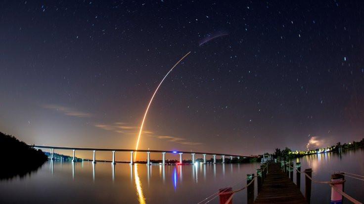 Uzaya yeni roket gönderildi