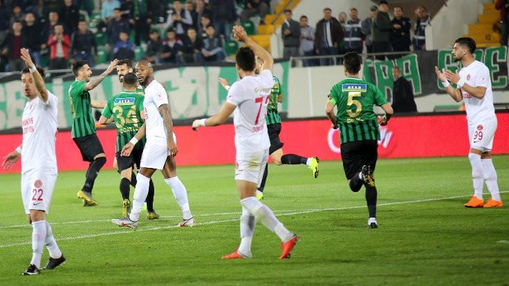 Ziraat Türkiye Kupası'nda ilk finalist Akhisarspor