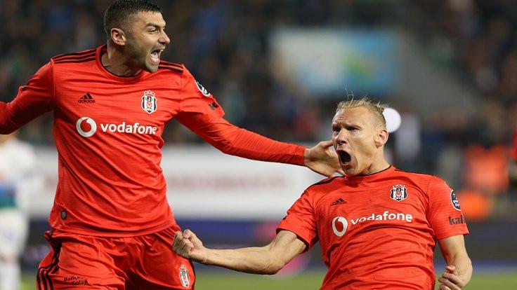 Beşiktaş, Rize'de 7-2'lik galibiyet aldı