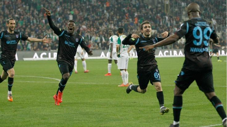 Trabzonspor'dan üst üste dördüncü galibiyet