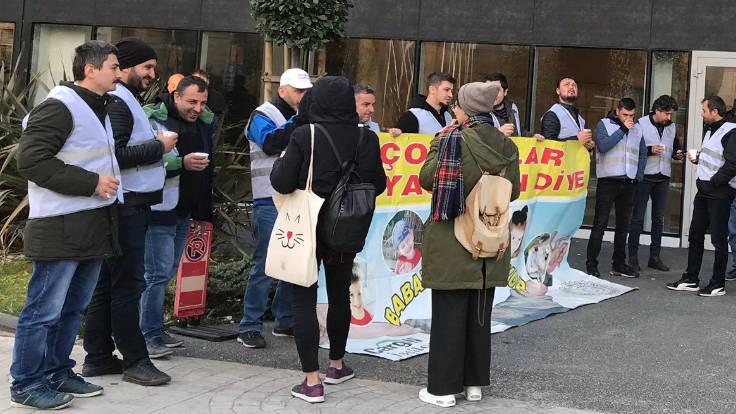 Polis eylem yapan Cargill işçilerinin şikayet edilmesini istedi